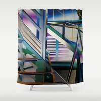 architecture Shower Curtains featuring Architecture by Paris Martin