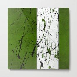 Green zen Metal Print