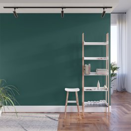 Forest Biome | Pantone Fashion Color | Fall : Winter 2019-2020 | London | Solid Color | Wall Mural