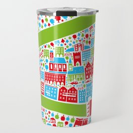 Wasserburg Poster Travel Mug