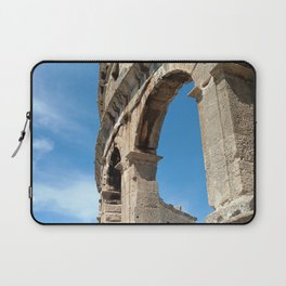 pula croatia ancient arena amphitheatre high Laptop Sleeve