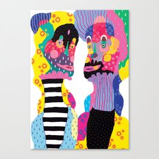 Weird & Weirder Canvas Print