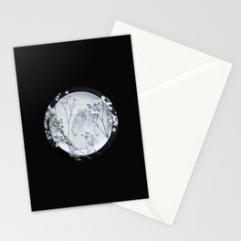 Silver Kiss II  Stationery Cards