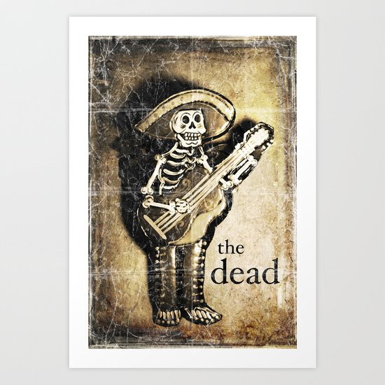 the dead Art Print