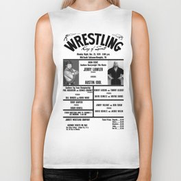 #5 Memphis Wrestling Window Card Biker Tank