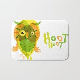 Owl Number XVII Bath Mat