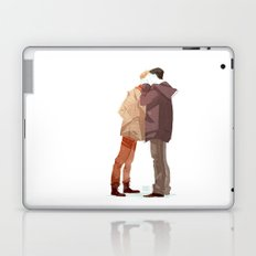 Where your lips begin Laptop & iPad Skin