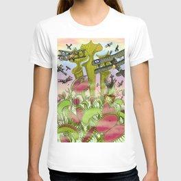 Plants Vs Planes T-shirt