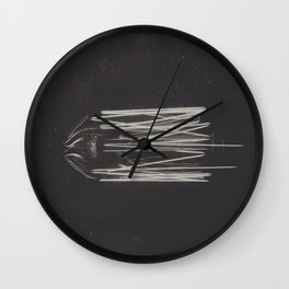 Filament Wall Clock