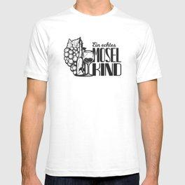 Mosel Kind Spruch Moselaner Geschenk T-shirt
