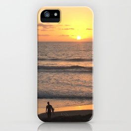 The Last Surf iPhone Case