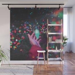 The Christmas Light (Color) Wall Mural