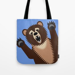 Big Bad Bear Tote Bag