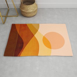 Abstraction_SUN_Bohemian_LAYERS_Minimalism_001 Rug
