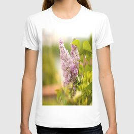Nostalgic Moment Lilac Purple Color #decor #society6 T-shirt