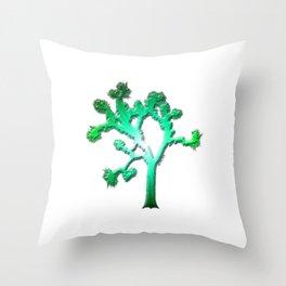 Joshua Tree Verdant by CREYES Throw Pillow
