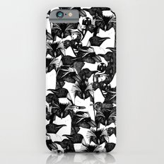 just penguins black white iPhone 6s Slim Case
