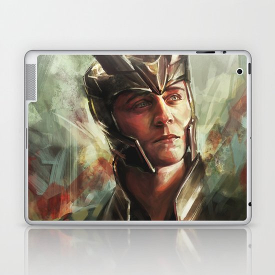 The Prince of Asgard Laptop & iPad Skin