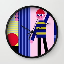 Catch the ball! Wall Clock