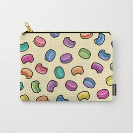 Pop Art Macarons: Yellow Carry-All Pouch