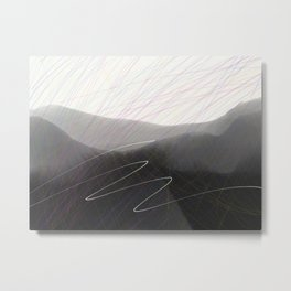 Flight Path Metal Print
