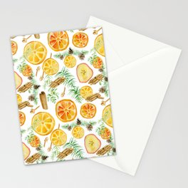 spices for mulled wine Stationery Cards