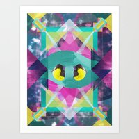 the national Art Prints featuring National Geometric by Jacob Overway