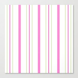 Simply Stripes Canvas Print