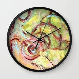 Love Vibes Wall Clock