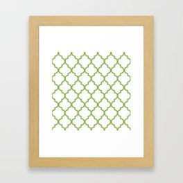 Pantone 2017, Greenery 1 Framed Art Print