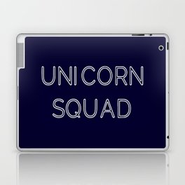 Unicorn Squad - Navy Blue and White Laptop & iPad Skin