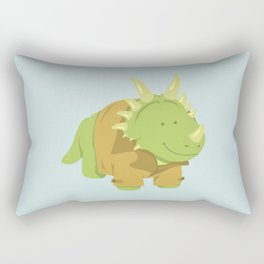 StyraCOATsaurus Rectangular Pillow