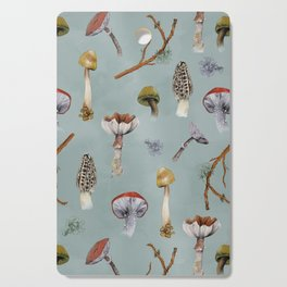 Mushroom Forest Party Cutting Board