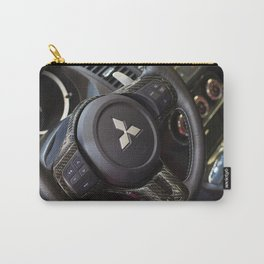 Mitsubishi Lancer Evolution X Wheel Carry-All Pouch