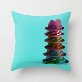 Hat Mountain Throw Pillow