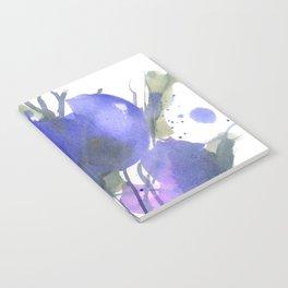 Bluest Blue Bloom Notebook
