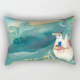 Adventures at Sea Rectangular Pillow