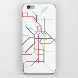 London tube iPhone Skin