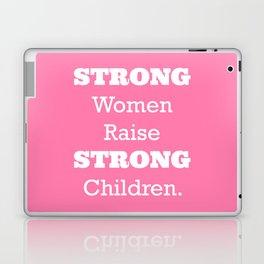 Strong Women - Pink.  Laptop & iPad Skin