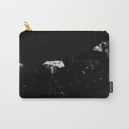 WHITE GLOW Carry-All Pouch