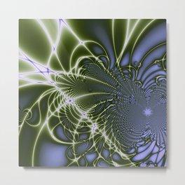 Fractal Abstract 68 Metal Print