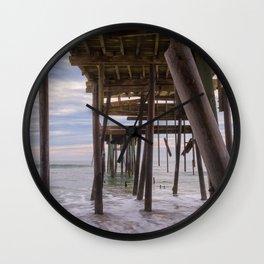 Under Frisco Pier Wall Clock