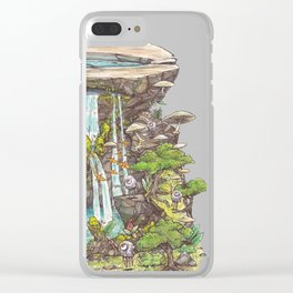 Serenity Untouched Clear iPhone Case