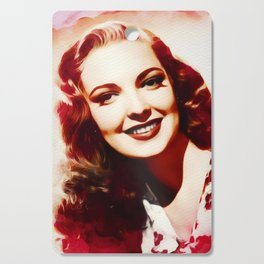 Linda Darnell, Vintage Actress Cutting Board