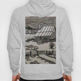 Mountain Cabin Original b/w Hoody