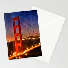 Golden Gate Bridge | Geometric Mix No.1 Stationery Cards