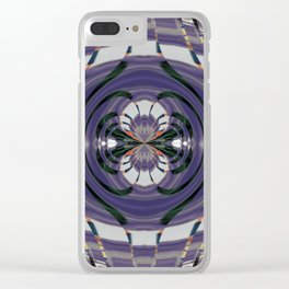 Wart Eye Pattern 7 Clear iPhone Case