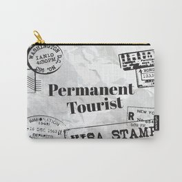 Permanent Tourist Carry-All Pouch