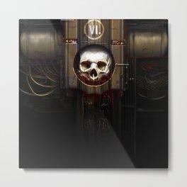 FOA 2014 artwork H.R. Giger style Metal Print