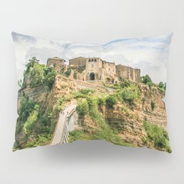 Village in the clouds Pillow Sham